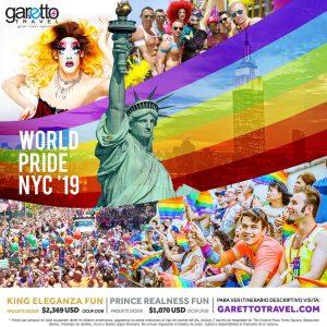 NYC Pride 2019 Garetto Travel