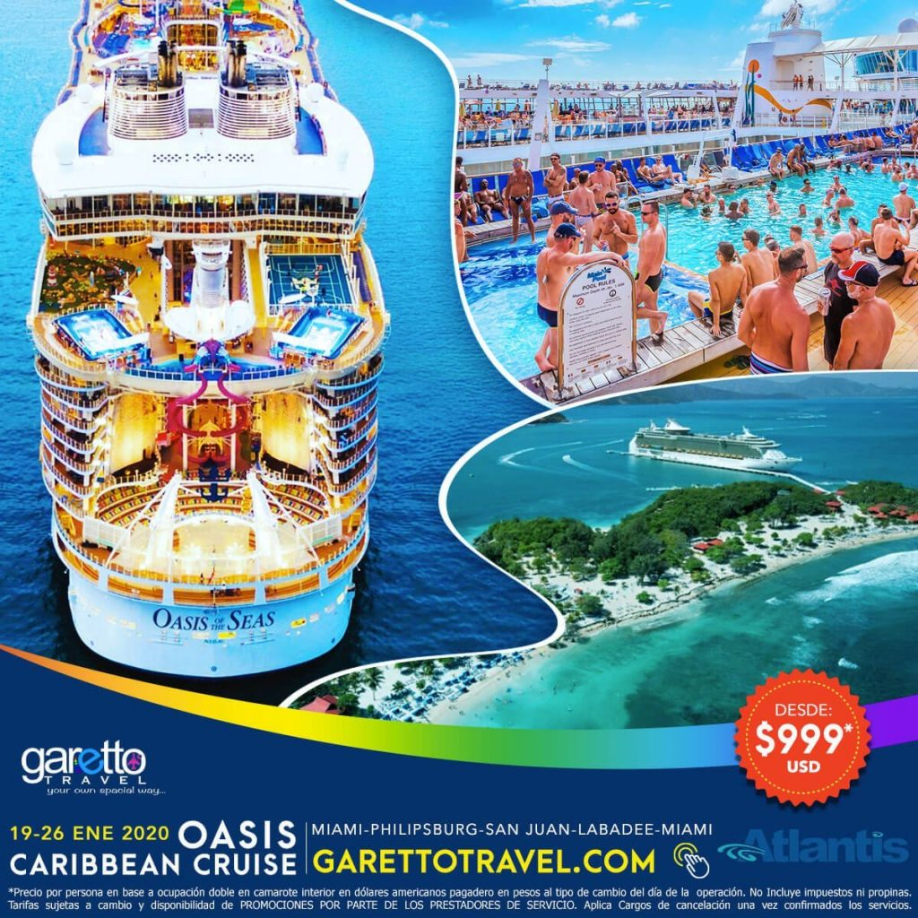 Oasis Caribbean Cruise Atlantis - Garetto Travel