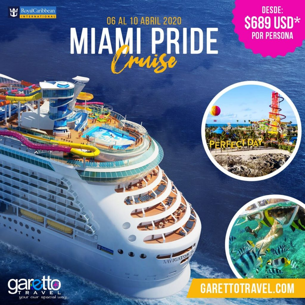 Miami Pride Cruise Garetto Travel