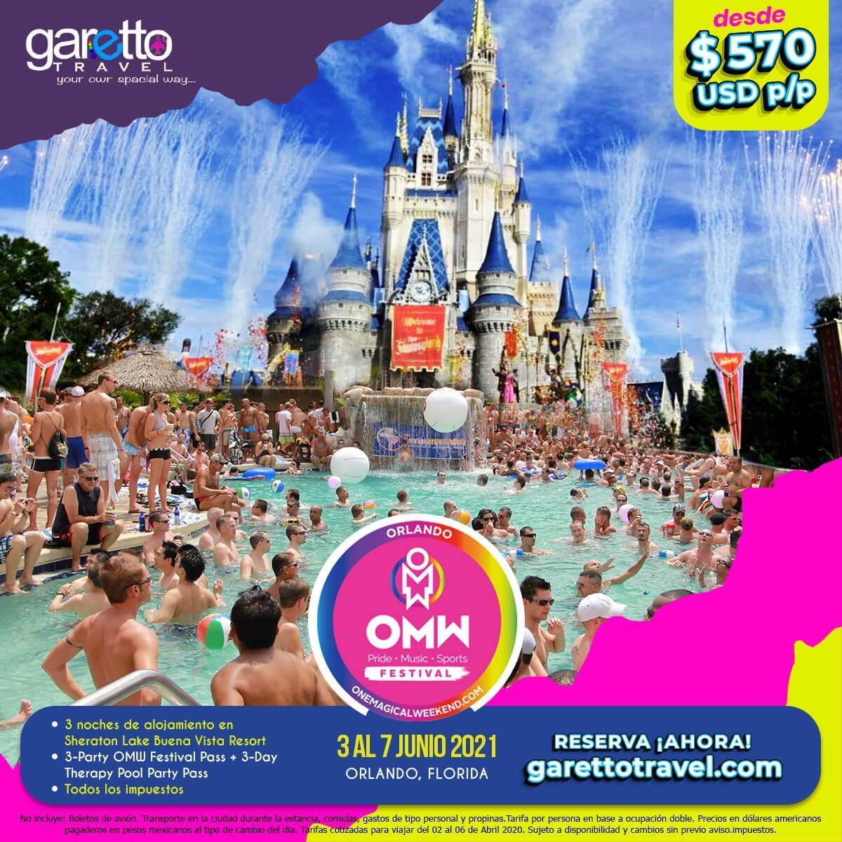 One Magical Weekend 2021 Garetto Travel